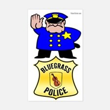 Bluegrass Police Decal