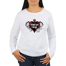 Born To Bead heart T-Shirt