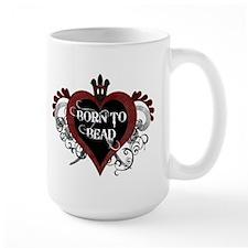 Born To Bead heart Mug