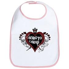 Born To Bead heart Bib