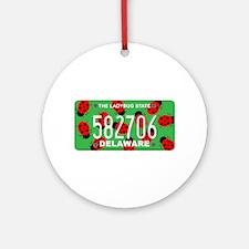 DE Ladybug Ornament (Round)