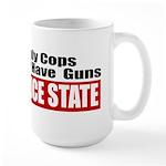 Police State Large Mug