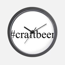 #craftbeer Wall Clock