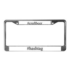 #craftbeer License Plate Frame