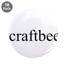 "#craftbeer 3.5"" Button (10 pack)"