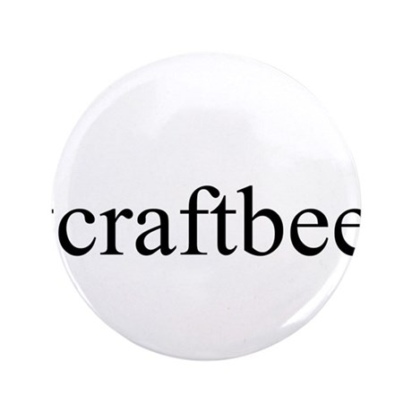 "#craftbeer 3.5"" Button (100 pack)"