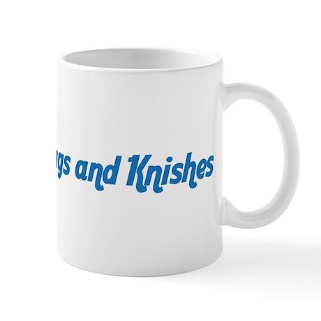 Hugs and Knishes Coffee Mug