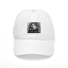 Friedrich Nietzsche Skeptical Baseball Cap