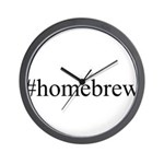 #homebrew Wall Clock