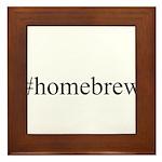 #homebrew Framed Tile