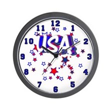 USA Wall Clock 1