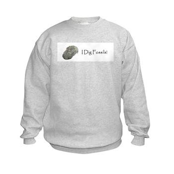 Kids Trilobite Fossil Sweatshirt
