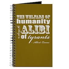 The Alibi of Tyrants Journal