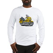 Goldwing Yellow Bike Long Sleeve T-Shirt