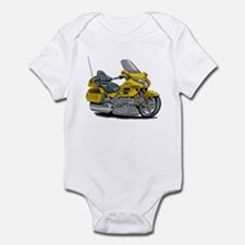 Goldwing Yellow Bike Infant Bodysuit