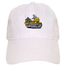Goldwing Yellow Bike Baseball Baseball Cap