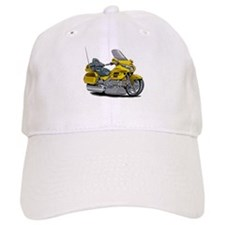 Goldwing Yellow Bike Baseball Cap
