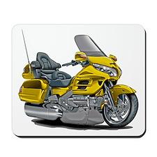 Goldwing Yellow Bike Mousepad