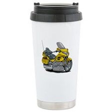 Goldwing Yellow Bike Travel Mug