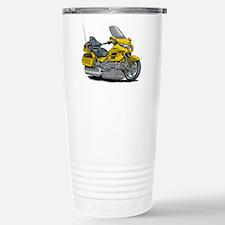 Goldwing Yellow Bike Travel Mug