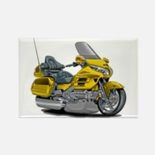 Goldwing Yellow Bike Rectangle Magnet