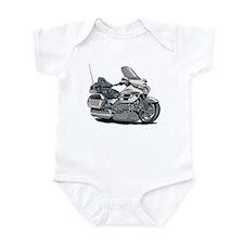 Goldwing White Bike Infant Bodysuit