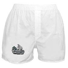 Goldwing White Bike Boxer Shorts