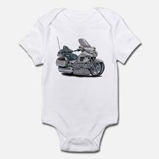 Goldwing Silver Bike Infant Bodysuit