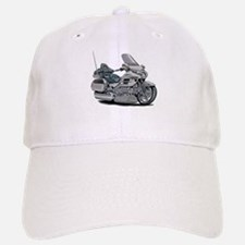 Goldwing Silver Bike Baseball Baseball Cap