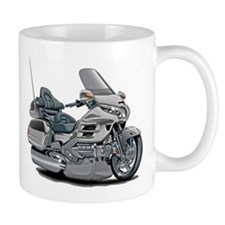 Goldwing Silver Bike Mug