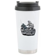 Goldwing Silver Bike Travel Mug