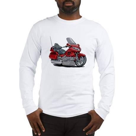 Goldwing Red Bike Long Sleeve T-Shirt