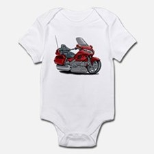Goldwing Red Bike Infant Bodysuit