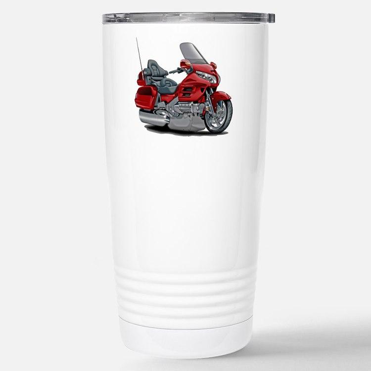 Goldwing Red Bike Travel Mug