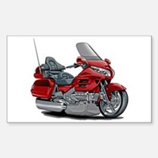 Goldwing Red Bike Decal