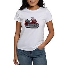 Goldwing Maroon Bike Tee