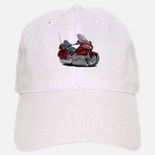 Goldwing Maroon Bike Baseball Baseball Cap