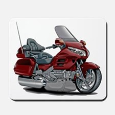 Goldwing Maroon Bike Mousepad