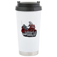 Goldwing Maroon Bike Travel Mug