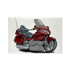 Goldwing Maroon Bike Rectangle Magnet