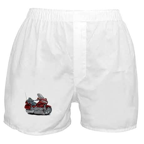 Goldwing Maroon Bike Boxer Shorts