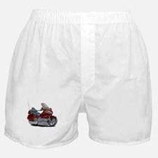 Goldwing Maroon Bike Boxer Shorts