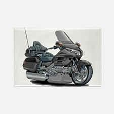Goldwing Grey Bike Rectangle Magnet