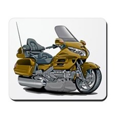 Goldwing Gold Bike Mousepad