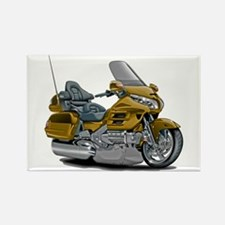 Goldwing Gold Bike Rectangle Magnet