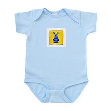 Blue Bunny Infant Creeper