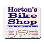 Horton's Bike Shop Mousepad