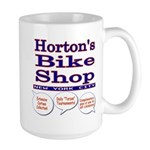Horton's Bike Shop Large Mug