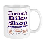 Horton's Bike Shop Mug