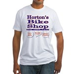 Horton's Bike Shop Fitted T-Shirt